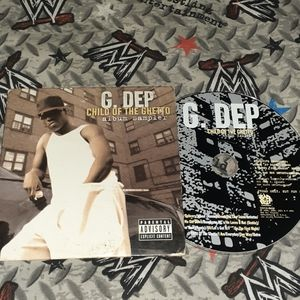 2001 G Dep Child Of The Ghetto Sampler Vintage Rap